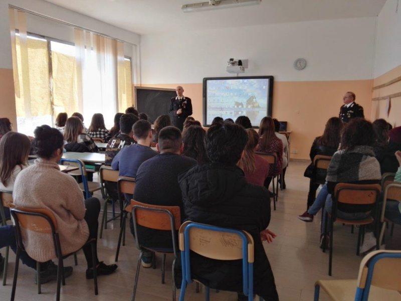 Guglionesi, a scuola di legalità con i Carabinieri