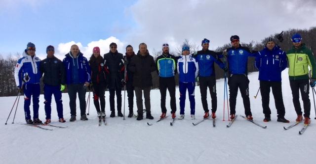Cinque nuovi maestri di sci di fondo, concluso il corso a Capracotta