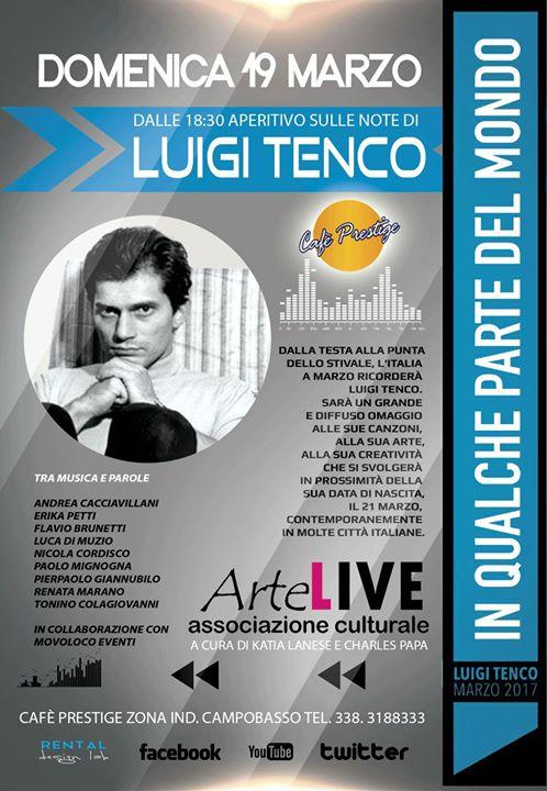 MUSICA – Omaggio a Luigi Tenco