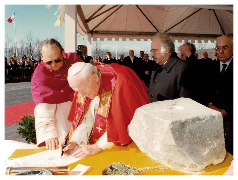 Cattolica. Ventidue anni dalla posa della prima pietra