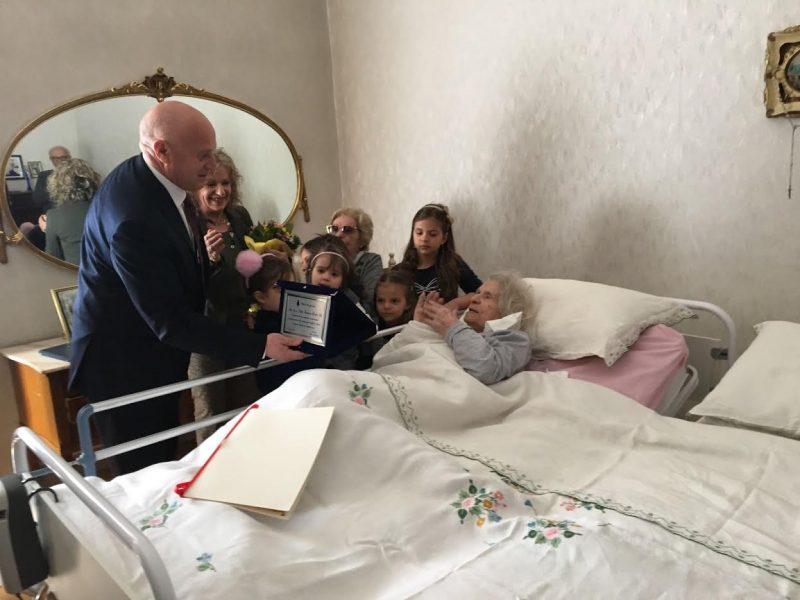 Nonna Ida taglia il traguardo dei 100 anni