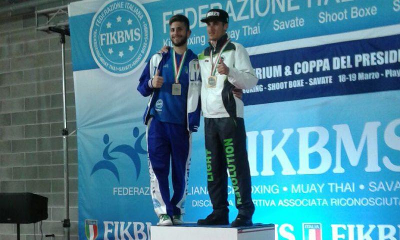 Kick Boxing, Mattia Amatuzio super a Riccione
