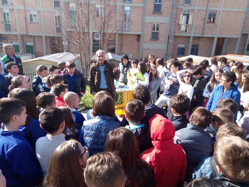 """Giornata mondiale dell'acqua, Legambiente Molise con i ragazzi della """"Montini"""""""