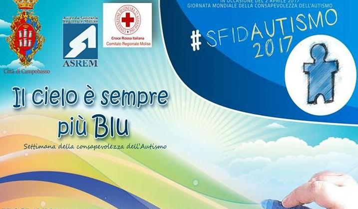 """""""Il cielo è sempre più blu"""", Cri Molise partecipa alla campagna di sensibilizzazione all'autismo"""