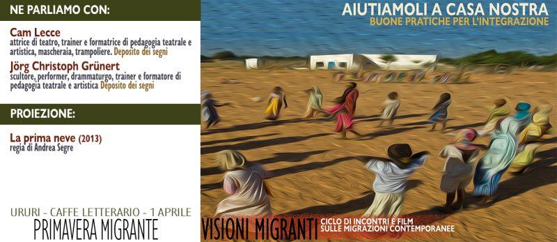"""""""Visioni migranti"""", domani l'incontro a Ururi"""