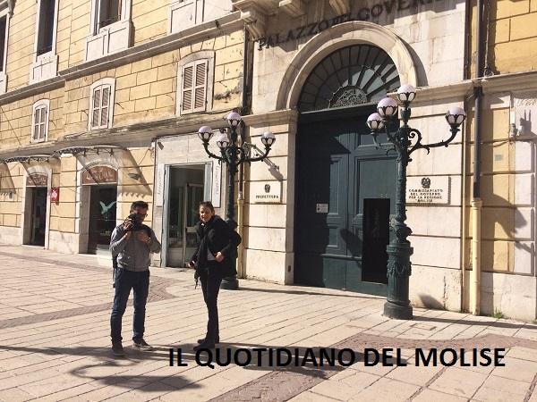 Laura Boldrini arrivata a Campobasso, ad attenderla anche Le Iene