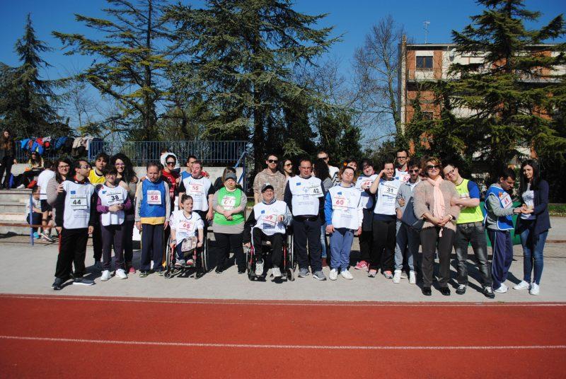 Gli atleti del Team Special Olympics del Cus Molise ai giochi regionali di atletica