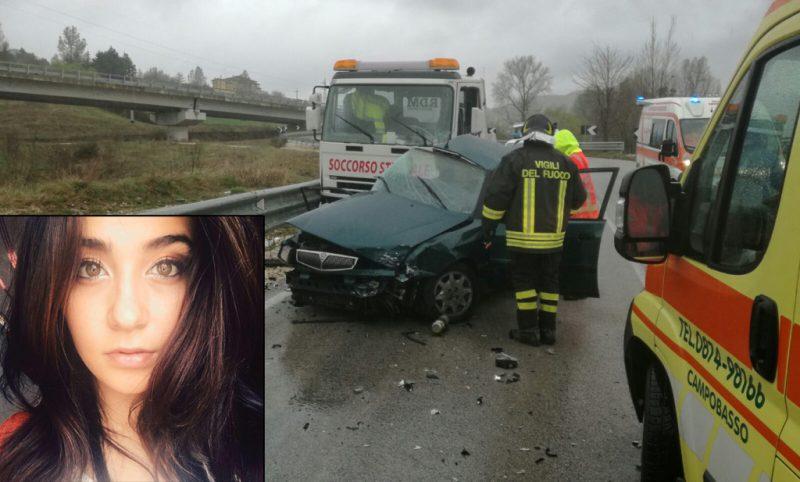 Ancora un incidente mortale: perde la vita una ragazza