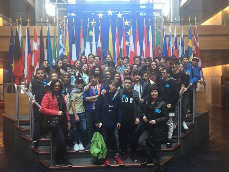 "I ragazzi della media ""Brigida"" in visita a Strasburgo"
