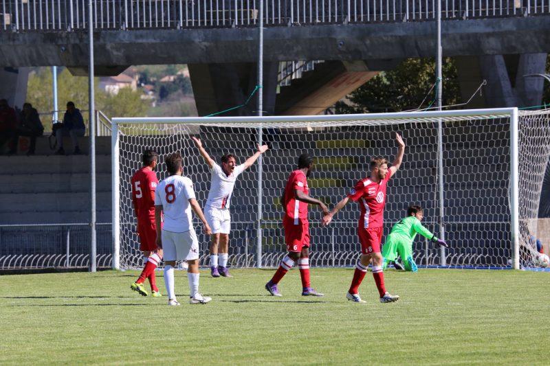 Il Campobasso ferma un'altra grande: tre gol annullati a Martiniello contro il Matelica