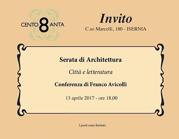 """EVENTI – """"Città e letteratura"""", Isernia incontra Franco Avicolli"""