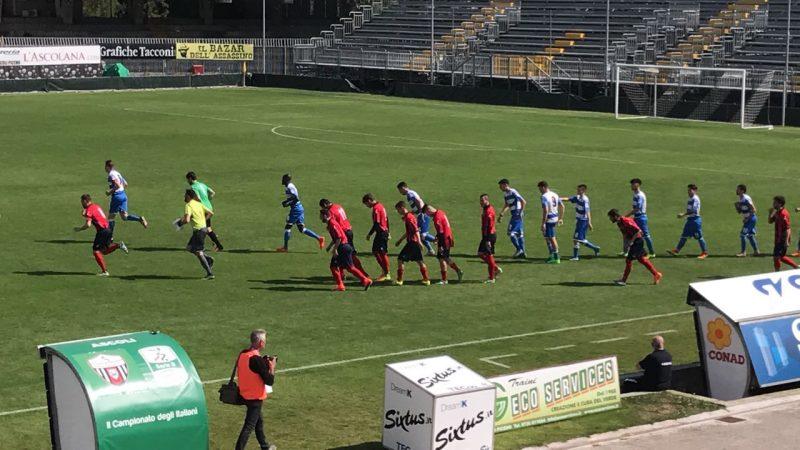 Campobasso sconfitto ad Ascoli Piceno 2-1