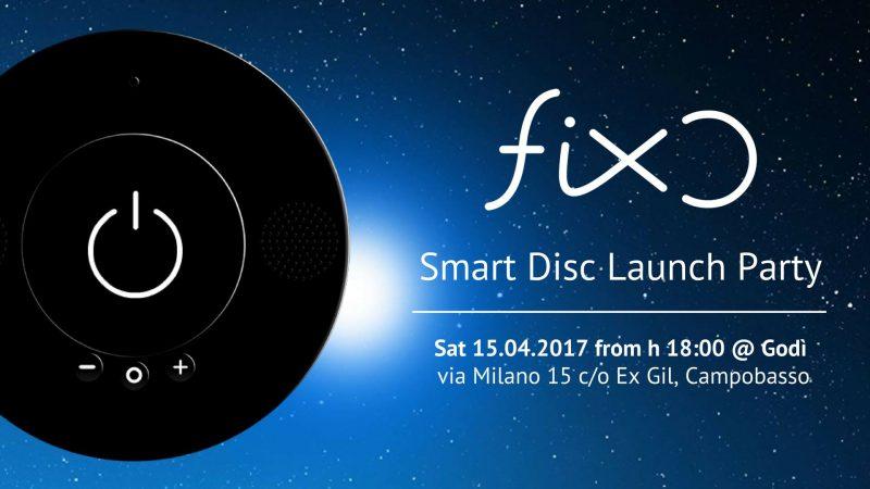 EVENTI – Domani sera all'ex Gil aperitivo con Fixo Smart Disc