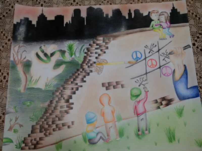 INIZIATIVE – Un poster per la pace, studenti premiati