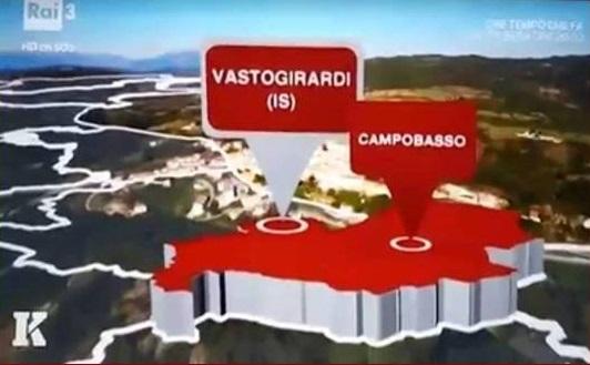 CULTURA – Pasqua in Tv  per Vastogiardi al Kilimangiaro