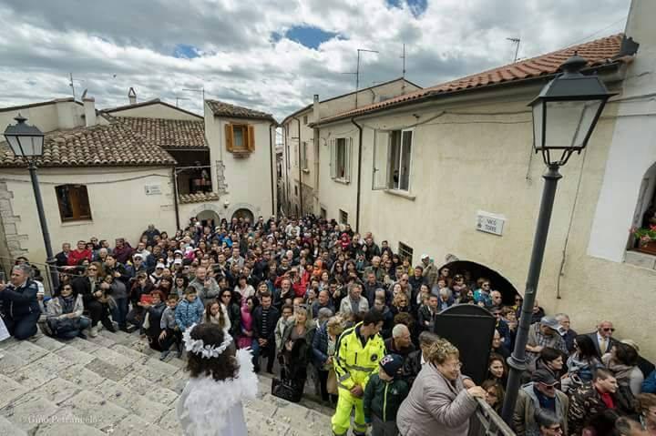 Fornelli, record di presenze per la 'Pasquetta al Borgo'