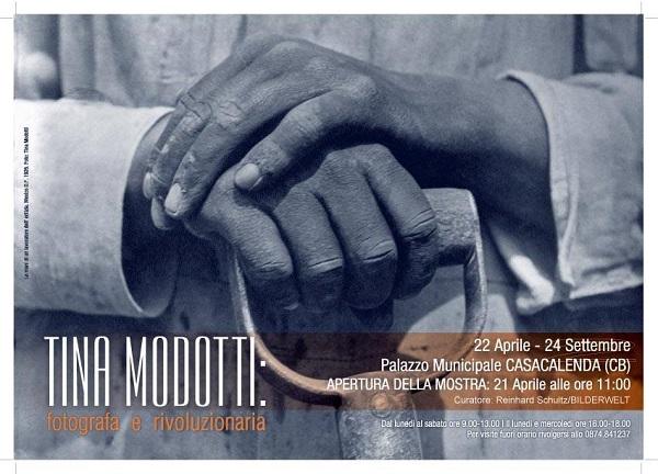CULTURA – Tina Modotti – Fotografa e Rivoluzionaria, mostra a Casacalenda