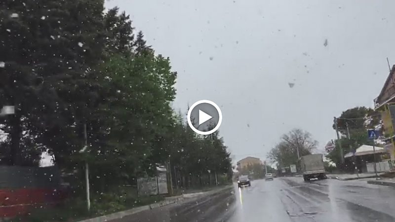 Meteo Molise: freddo, pioggia e neve (VIDEO)