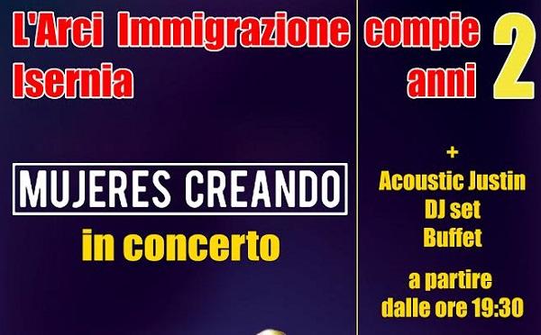 EVENTI – L'Arci Immigrazione festeggia il secondo anno di attività