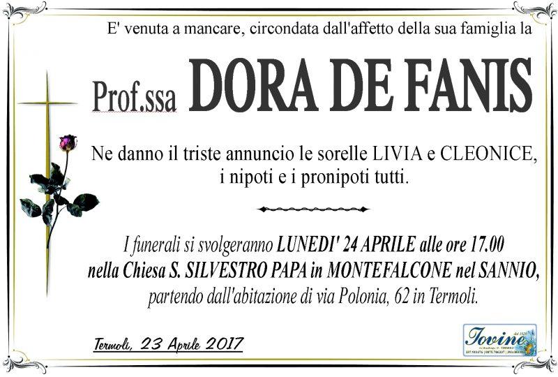 Dora De Fanis – 23/04/2017 – Termoli