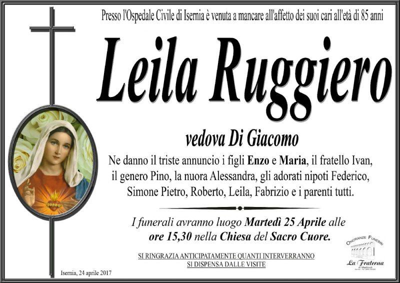 Leila Ruggiero – 24/04/2017 – Isernia
