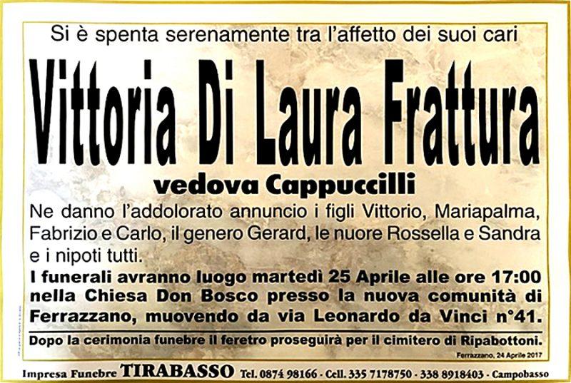 Vittoria Di Laura Frattura – 24/04/2017 – Ferrazzano