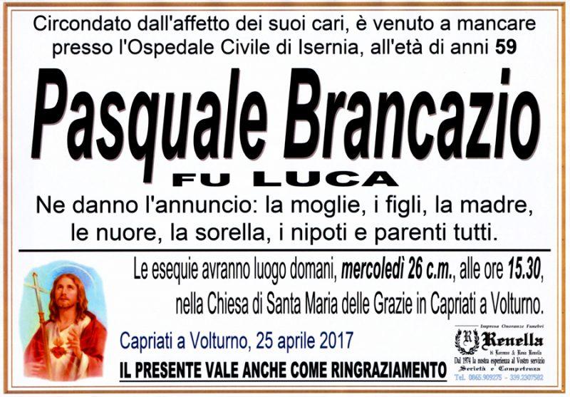 Pasquale Brancazio – 25/04/2017 – Capriati a Volturno