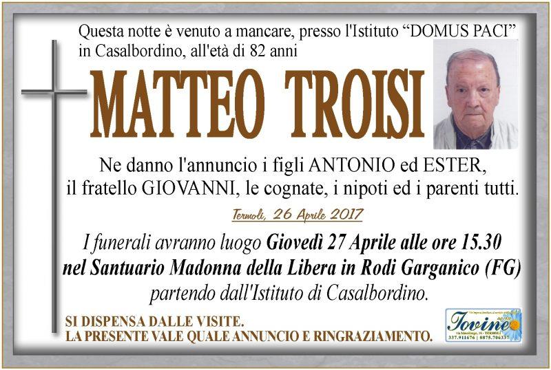 Matteo Troisi – 26/04/2017 – Termoli
