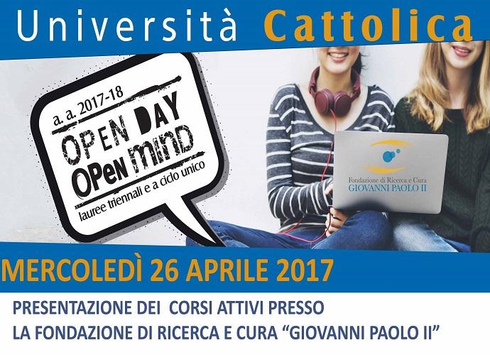 INIZIATIVE – Porte aperte alla Cattolica, oggi la presentazione dei corsi