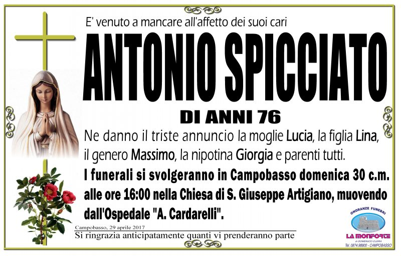 Antonio Spicciato – 29/04/2017 – Campobasso