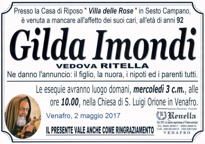 Gilda Imondi – 02/05/2017 – Venafro