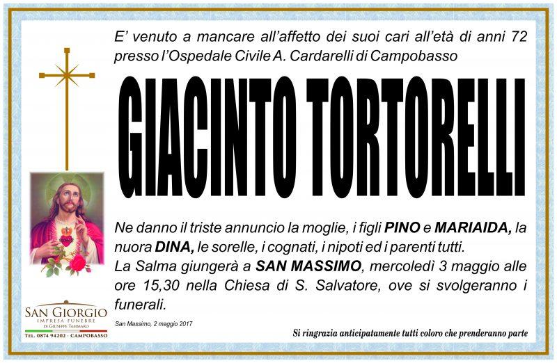 Giacinto Tortorelli – 02/05/2017 – San Massimo