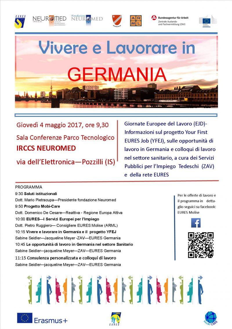 Giornate Europee del Lavoro per l'occupazione giovanile