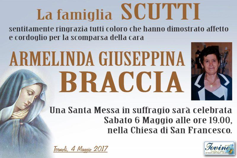 Ringraziamento famiglia Scutti – Termoli