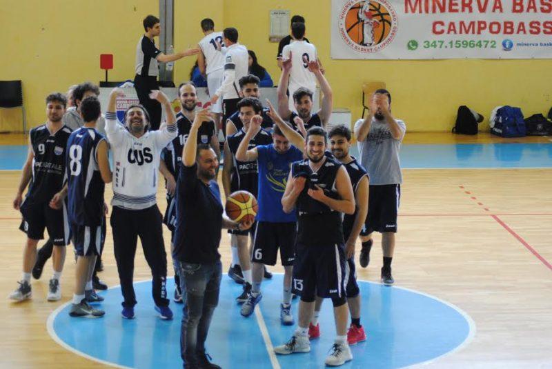 Vincita del CUS Molise Basket alla semifinale dei CNU