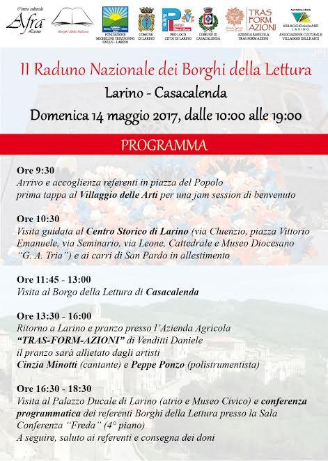Borghi della Lettura a Larino e Casacalenda