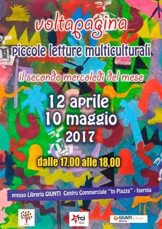 Domani appuntamento con Piccole letture multiculturali
