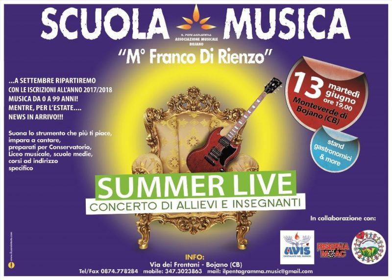 EVENTI – 'Summer Live', tutto pronto per il concerto della scuola di musica Il Pentagramma