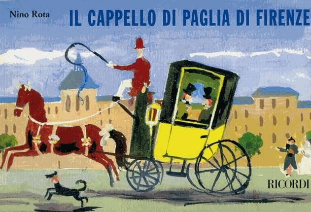 """MUSICA – Presentazione dell'opera lirica """"Il Cappello di Paglia"""" Di Nino Rota"""