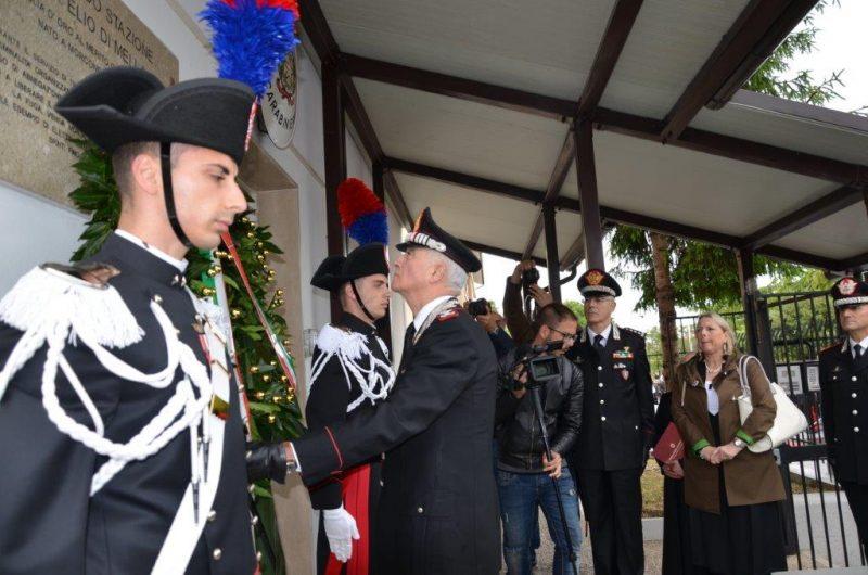 La stazione Carabinieri di Ripabottoni intitolata alla Medaglia d'Oro Elio Di Mella