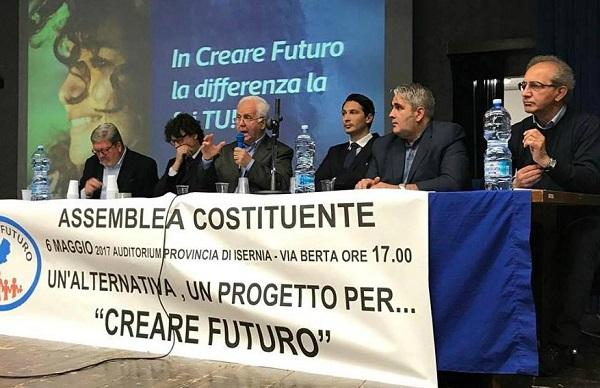 Creare Futuro, assegnate le cariche statutarie