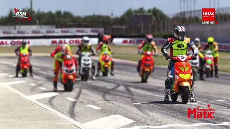 Marco Giglio secondo in Puglia nel Campionato Italiano Scooter