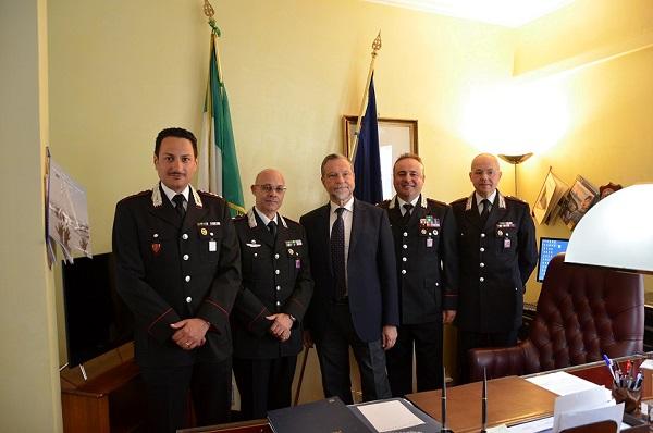 Lotta a caporalato e lavoro nero, il plauso del Prefetto Guida ai Carabinieri