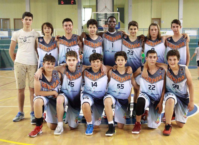 Basket, Isernia campione regionale Under 14