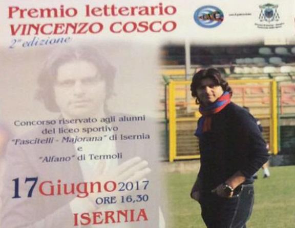 Concorso letterario 'Vincenzo Cosco', sabato la premiazione