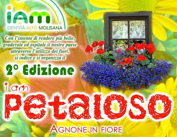 'I am Petaloso, Agnone in fiore', al via la seconda edizione