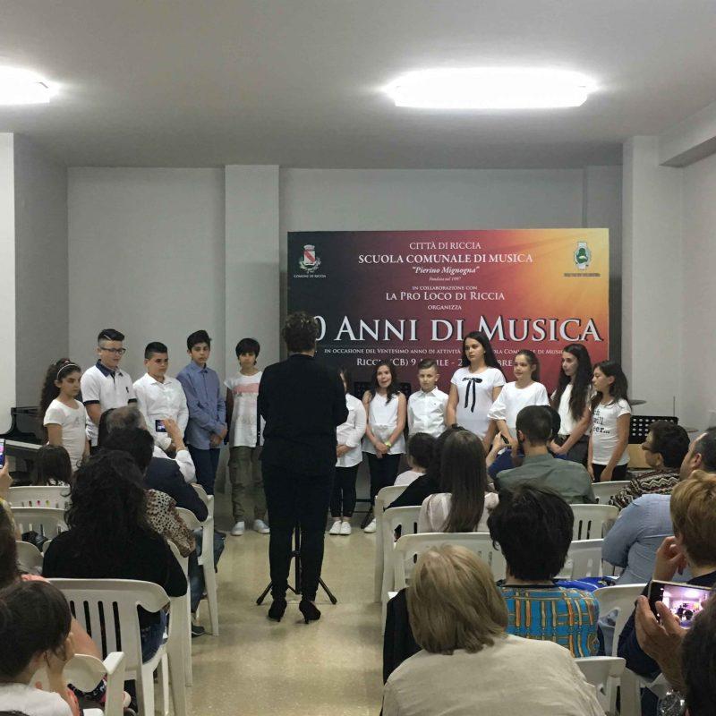 Scuola di Musica, proseguono le celebrazioni per il ventennale