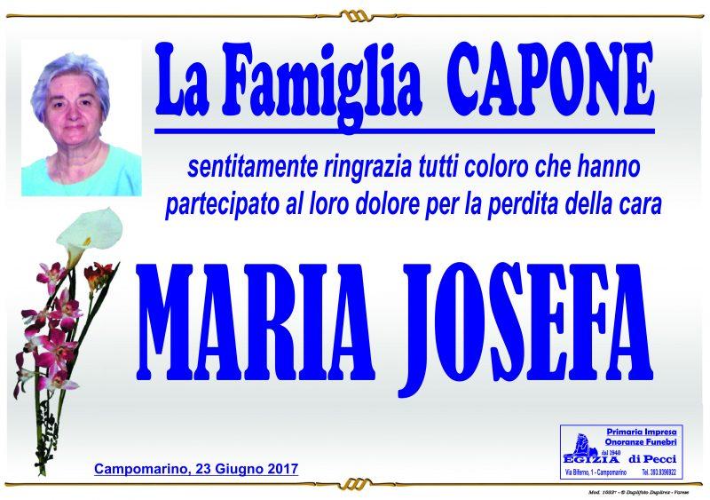 Ringraziamento Famiglia Capone – Campomarino