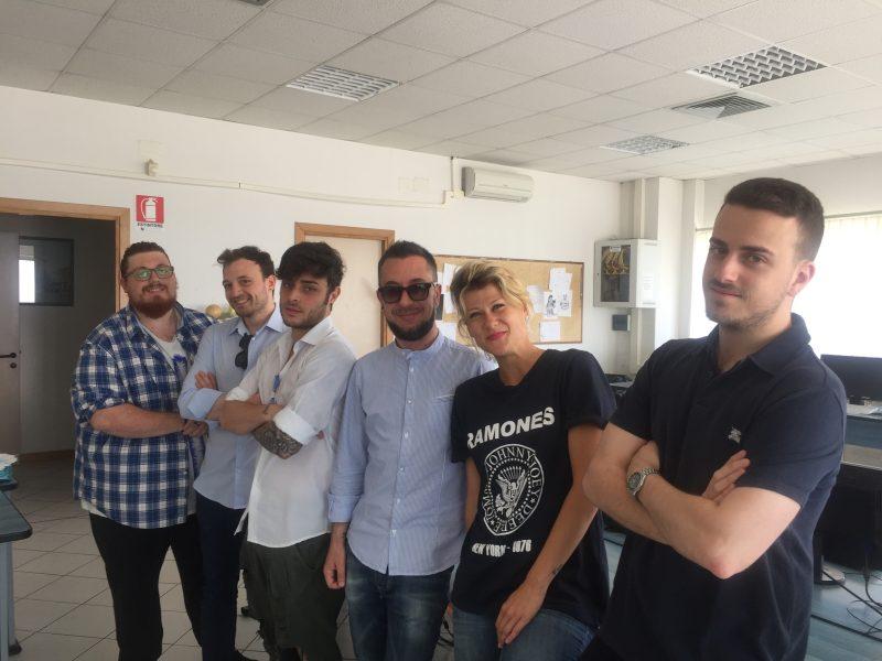 CURIOSITA' – La Banda della Masciona ospite nella nostra redazione