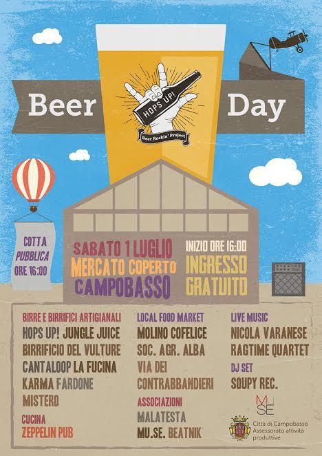 Hops Up! Beer Day, sabato al mercato coperto